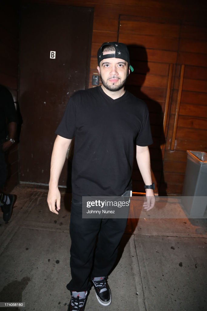 DJ Green Lantern attends the Lil Wayne Tour After Party at 1OAK on July 19, 2013 in New York City.
