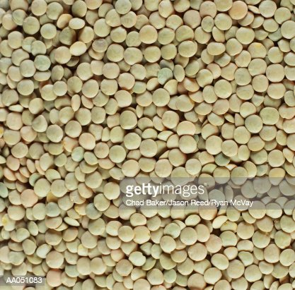 Green lentils (full frame)
