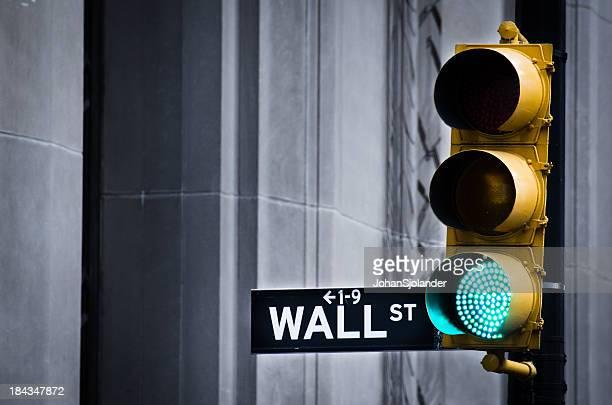 Luce verde su Wall Street
