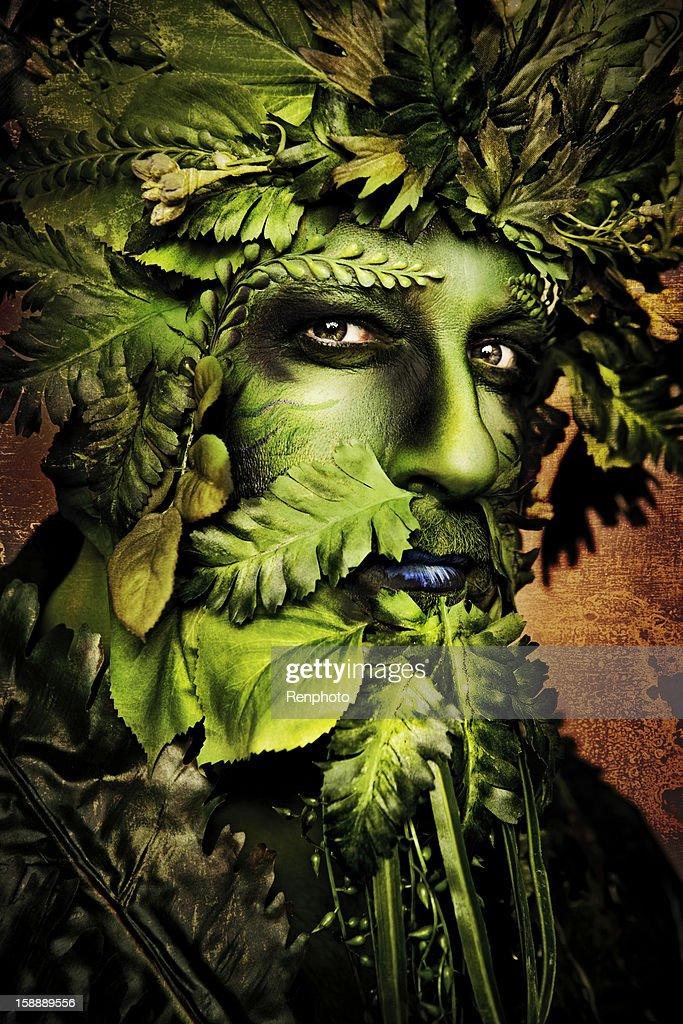 Green Man : Stock Photo