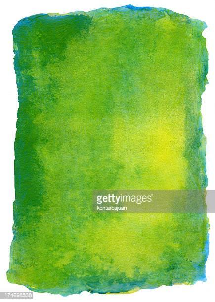 Green Marina Watercolour