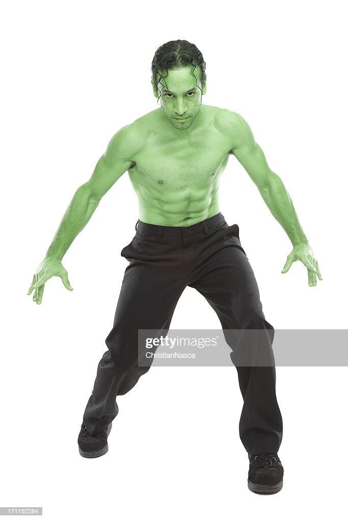 green monster : Stock Photo
