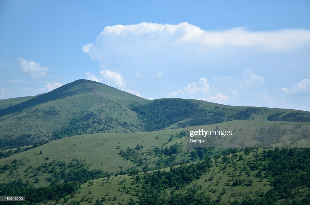 Green mountains : Stock Photo