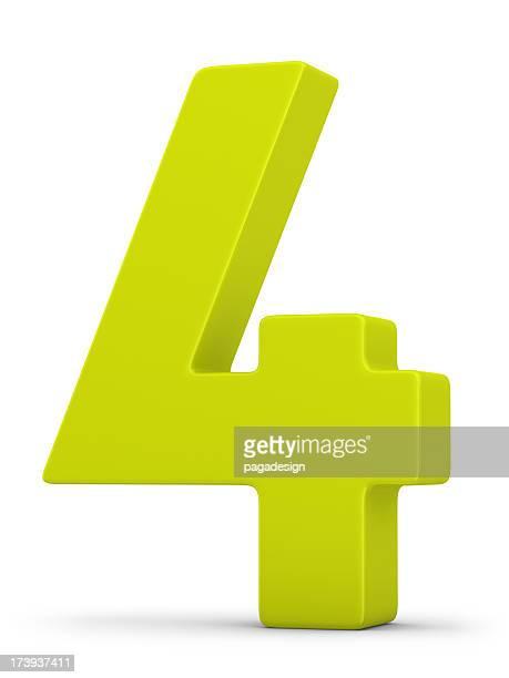Verde número 4