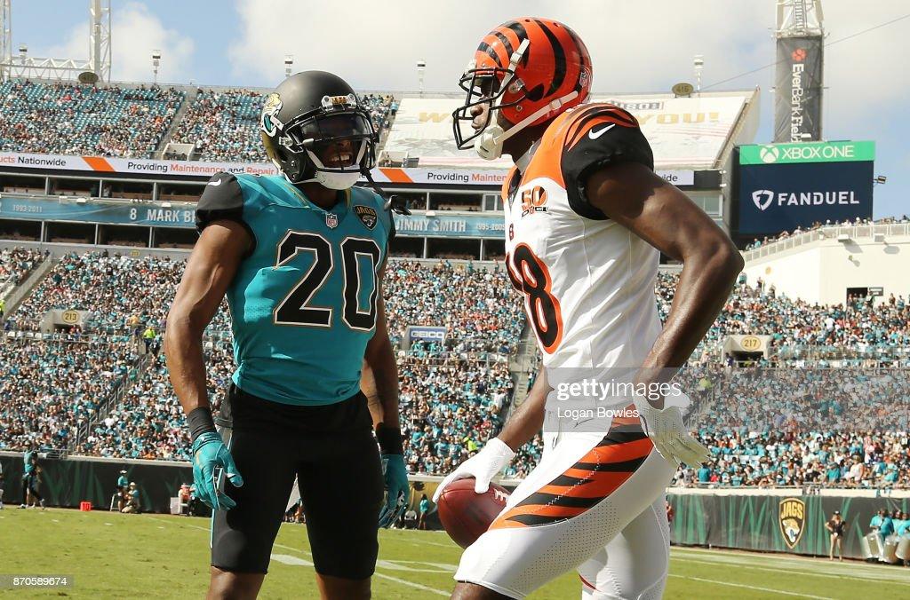 Cincinnati Bengals vJacksonville Jaguars