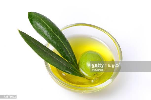 Green olive in Oil