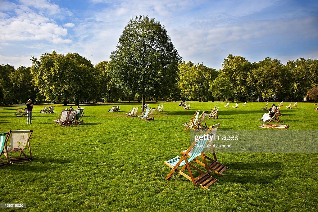 Green Park, London, England, United Kingdom. : Stock Photo