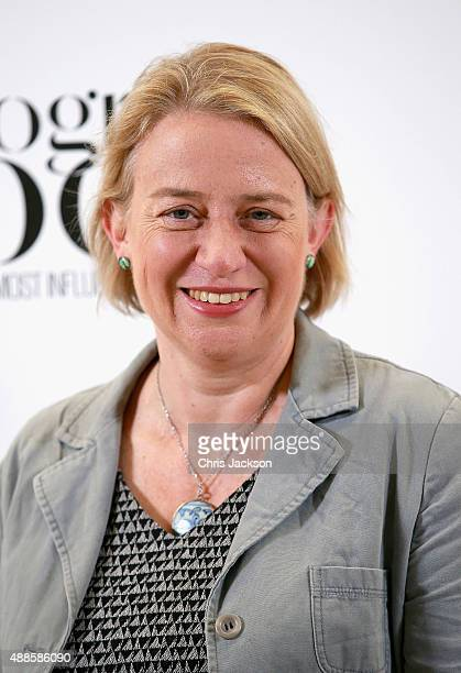Green Party Leader Natalie Bennett attends as the London Evening Standard Progress 1000 list is revealed at Canary Wharf Crossrail on September 16...