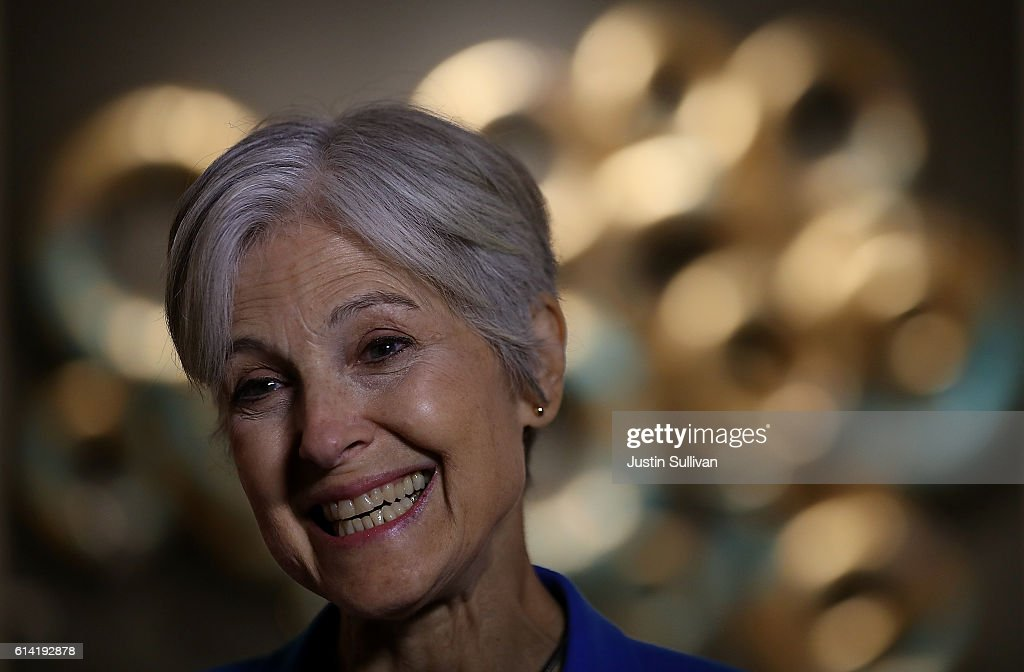 Green Party Presidential Candidate Jill Stein Holds Rally In New York City