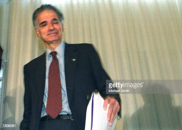 Ralph Nader Arrives Pictures | Getty Images