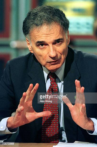 Green Party presidential candidate Ralph Nader discusses the 2000 campaign and the fight for the independent vote on NBC's 'Meet the Press' August 6...