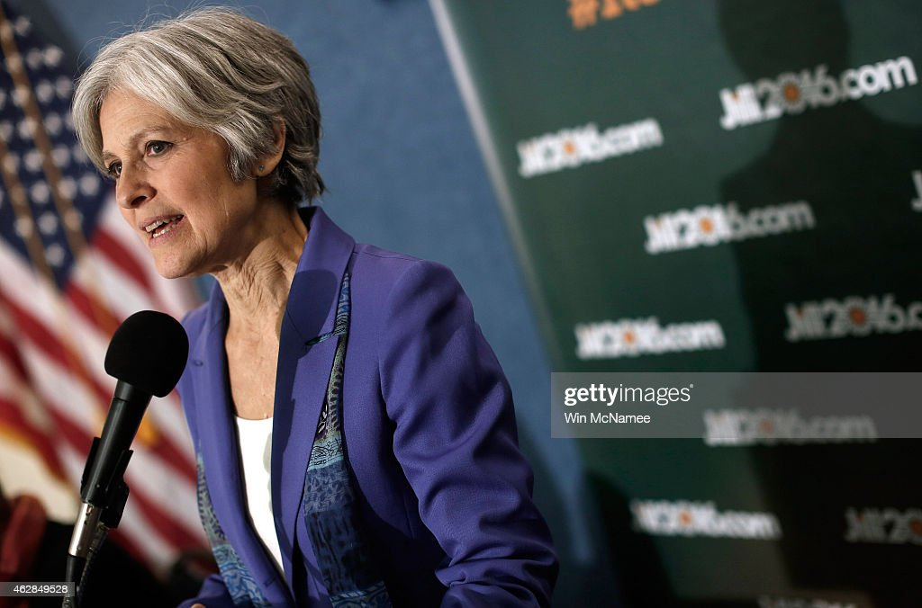 Former Green Party Presidential Nominee Makes Announcement On 2016 Race