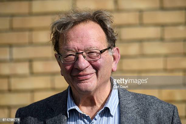 Green Party prospective parliamentary candidate Larry Sanders who is the brother of former US Democrat presidential nominee Bernie Sanders poses for...