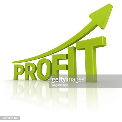 green profit graph