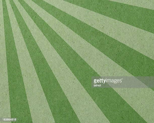 green ray Halbton Muster auf Papier