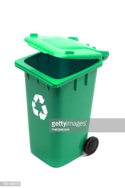 Green Recycle Bin