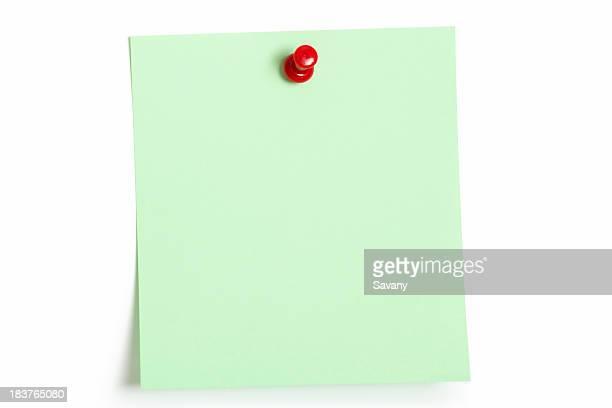 Green reminder