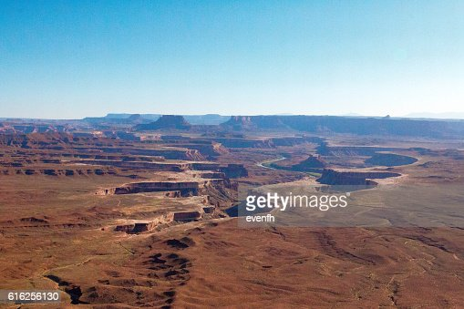 Green River Overlook, Canyonlands National Park, Utah, United States : Foto de stock