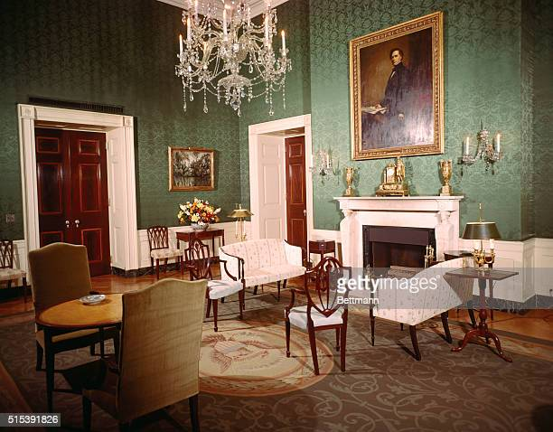 Green Room in the White House