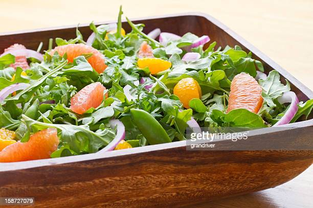 Green Salad with Citrus Fruit