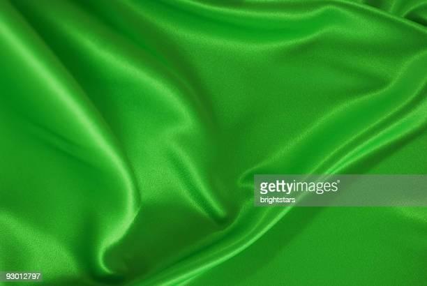 Green satin background