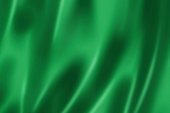 Green satin, silk, texture background