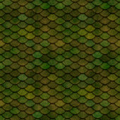 Green Scales Seamless Pattern Illustration