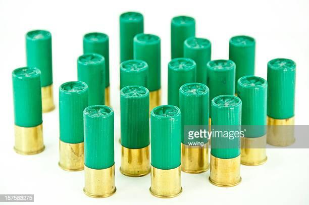 Green  Shotgun Shells