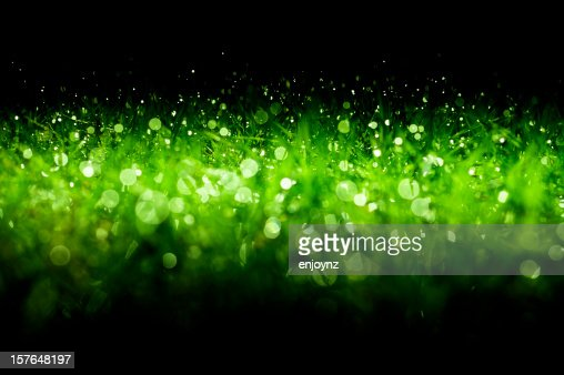 Green sparkling Christmas background