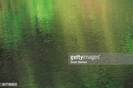 Green sparkly water : Stock Photo