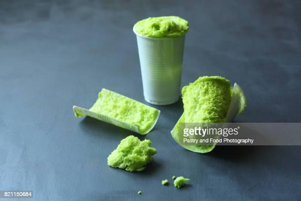 Green Sponge Moss Cake