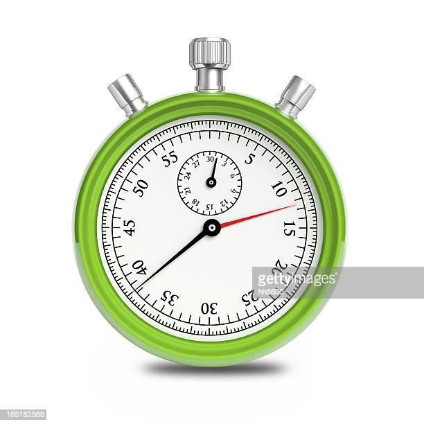 Green Stopwatch