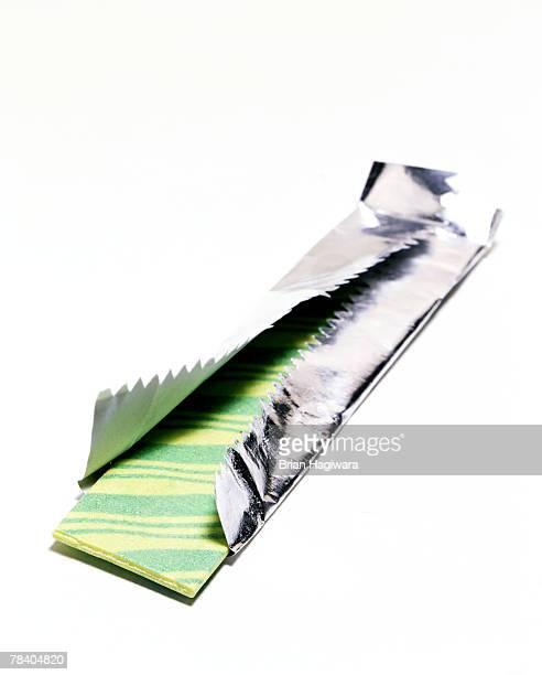 Green striped gum