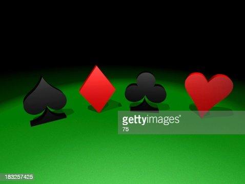 Green table : Stock Photo