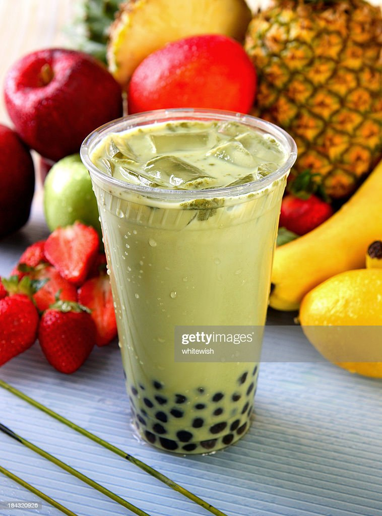 green tea boba stock photo getty images