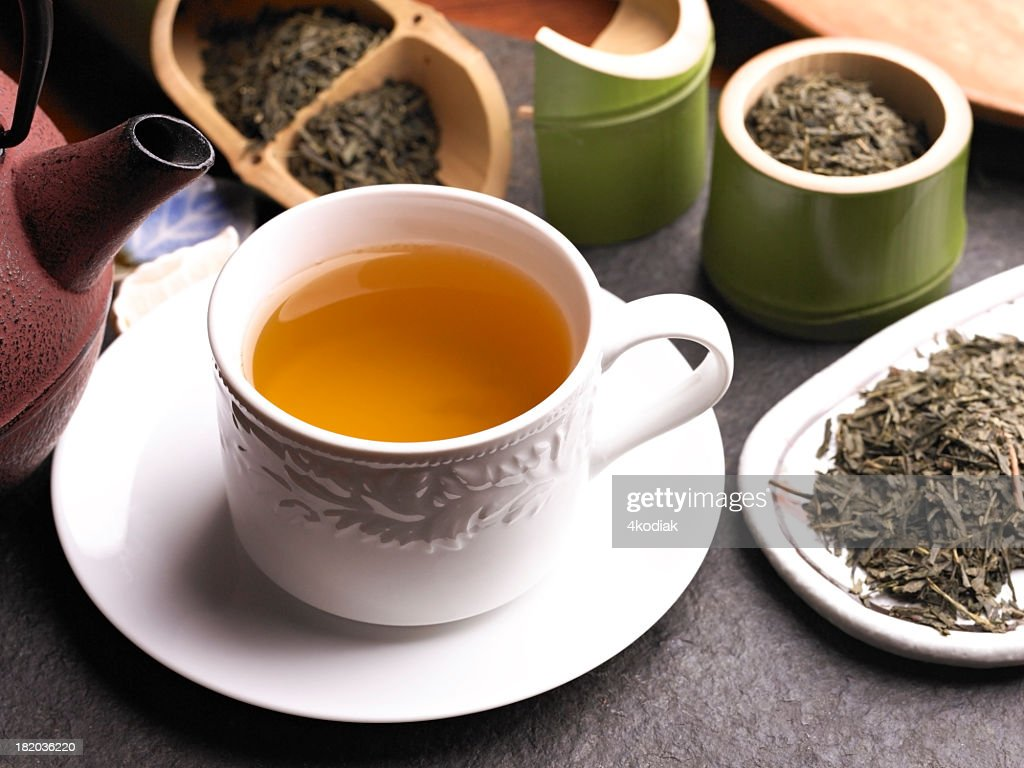 Green Tea : Stock Photo
