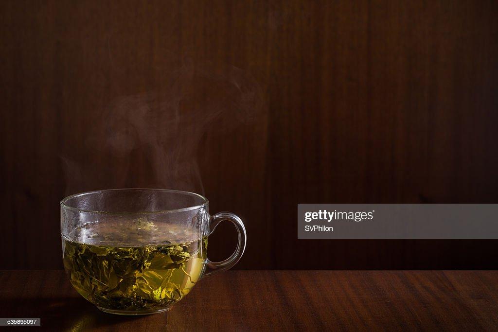 Green tea. : Stock Photo