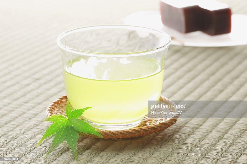 Green tea : ストックフォト