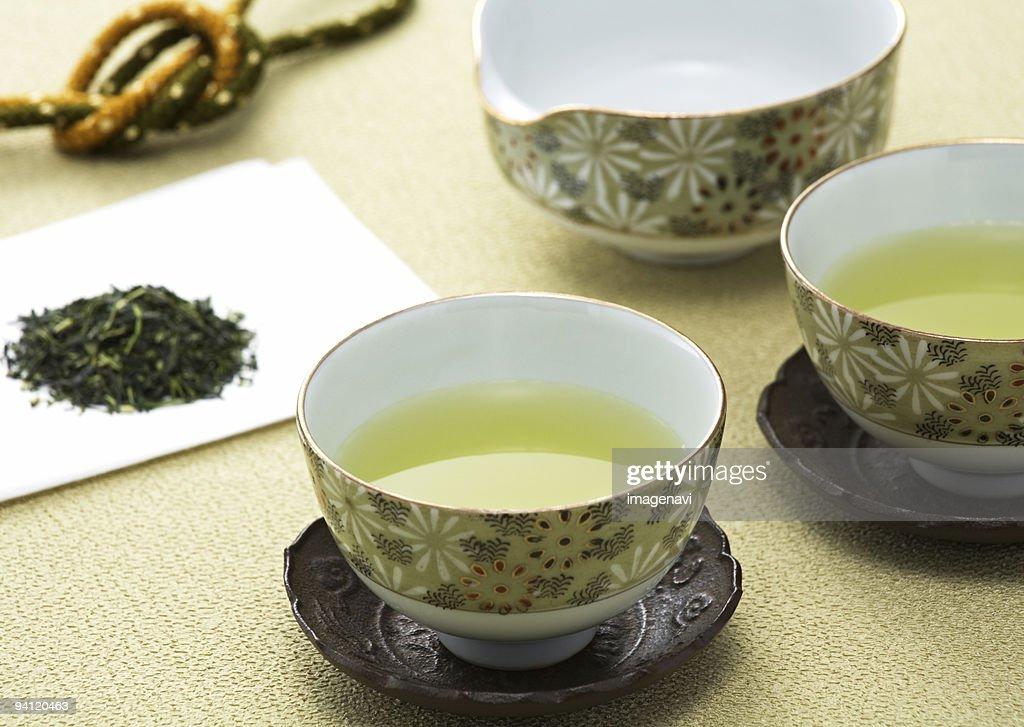 Green tea : Stock Photo