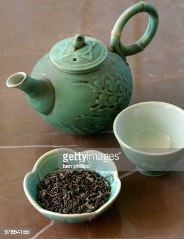 Tè verde : Stock Photo
