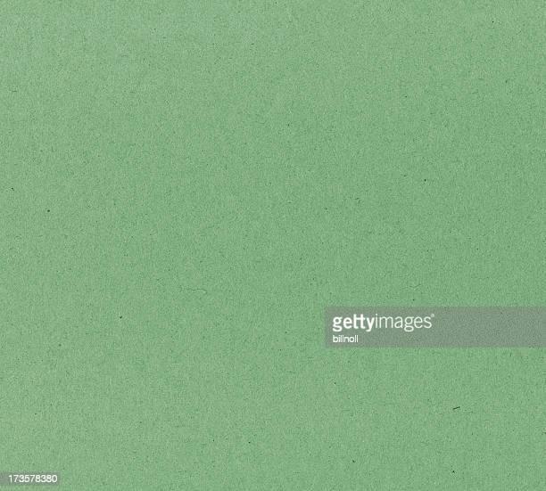 green textured cardboard