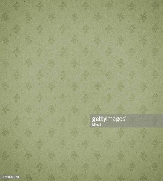 green textured paper with symbol background texture