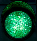 Green traffic light, North Rhine-Westphalia, Germany