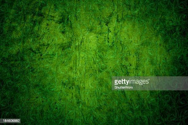Victorian fondo verde