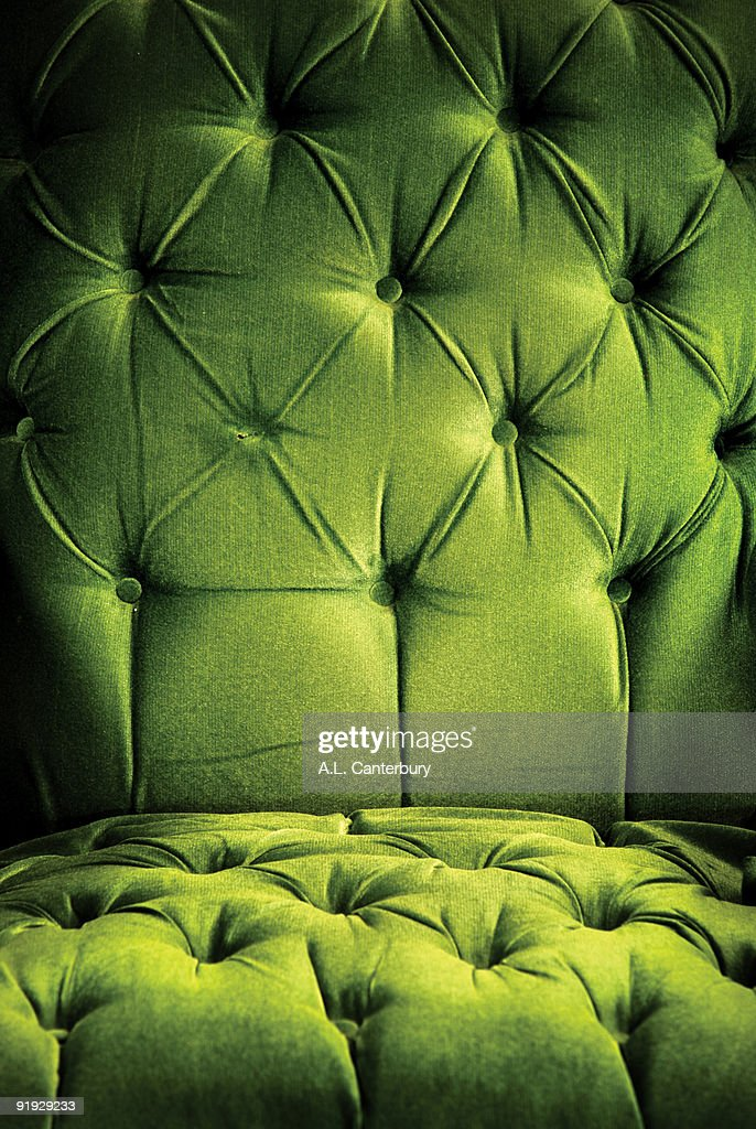 Green vintage chair : Stock Photo