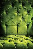Green vintage chair