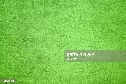 Green Wall Texture Background Pattern Nobody