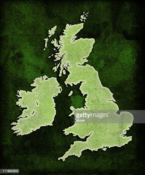 Green World UK map