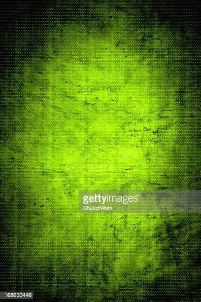 グリーンの織キャンバスの背景