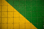 Vibrate colours path the streets, mimicking the famous Brazilian colours